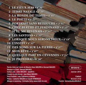 Album fond sans coté