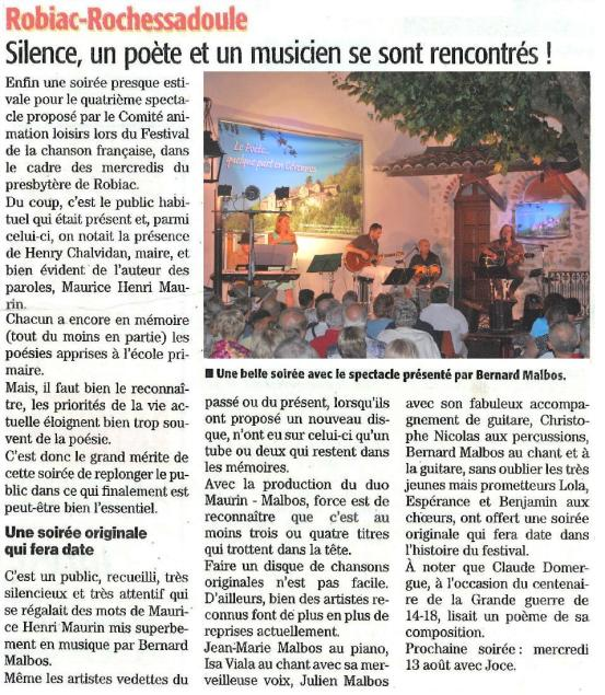 Article Robiac