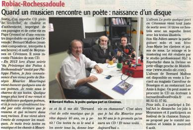 Article sur l'album